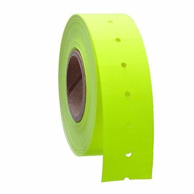 10 Rolls / 5000 Tags YELLOW labels for Motex MX-5500 L5500 Mx989 Price Gun
