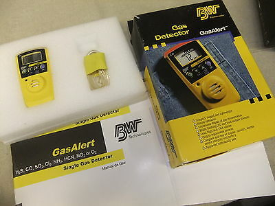 Gas detector BW Technologies boxed little used