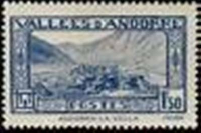 "ANDORRE FRANCAIS STAMP TIMBRE N° 40 "" ANDORRE-LA-VIEILLE 1 F. 50 "" NEUF xx LUXE"
