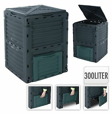 300L Composter Bin - Eco Friendly Organic Waste Compost Converter
