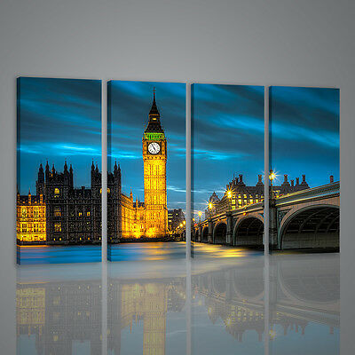 Quadri Moderni Bing Bang London Ii Quadro Moderno Xxl Stampa Su Tela Canvas