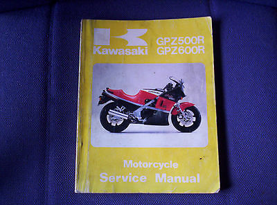 Kawasaki Gpz600 R Genuine Workshop Manual