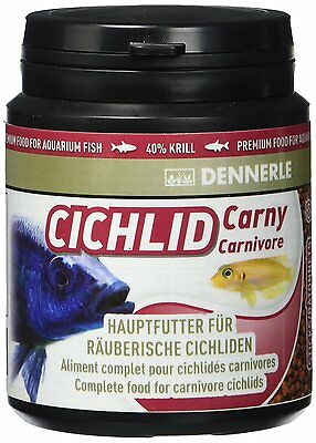Dennerle Cichlid Carny Basic food for predatory cichlids 200ml,1000ml