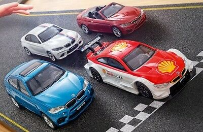 4x SHELL BMW M Traumautos M2 Coupe M4 Cabrio Motorsport X6 M Modell Limited Edt.