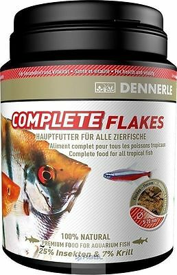 Dennerle Complete Flakes BASIC FOOD FOR ALL ORNAMENTAL FISH 100ml, 200ml,1000ml