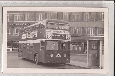 (w16h42-347) Real Photo of Western Welsh Omnibus, Leyland Atlantean - Plain Back