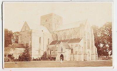 Hampshire CDV-WINCHESTER, The Church of St. Cross by WILLIAM SAVAGE