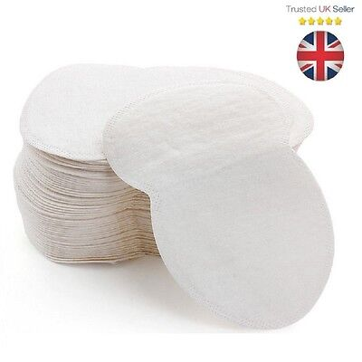 Underarm Sweat Pads Disposable Anti Sweat Guard Sheet Shield Absorbing UK