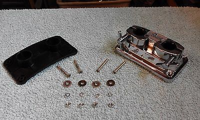Pearl double tom bass drum mount.