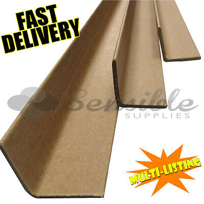 High Quality Cardboard Edge Guards Pallet Protectors Strips Corners *full Range*