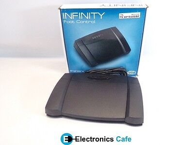 Infinity IN-USB-2 Foot Control Pedal for Computer Transcription new/unused