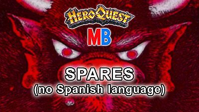 Multi-Listing Spares of Hero Quest MB & Games Workshop