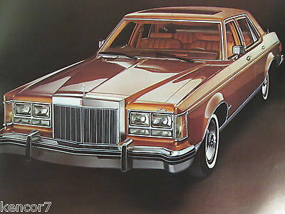 1978 Lincoln Versailles Sales Brochure C7147
