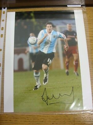24/11/2007 Signed Photograph: Burnley v Stoke City [125th Anniversary Game] - Au