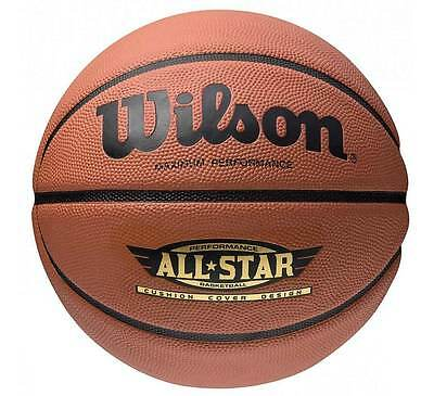 Wilson Ultimate Performance All-Star Basketball Size 7 PLUS 2 NETS INFLATED