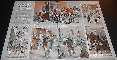 1940 Anti-Third Term 4 Grant opposed 1880~Puck Political cartoon art pages