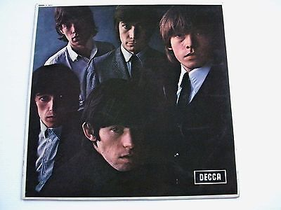 ROLLING STONES  ROLLING STONES No.2 DECCA RED LABEL EARLY ISSUE 2A MATRIX nos.