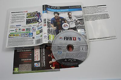 Play Station 3 Ps3 Fifa 13 Completo Pal España