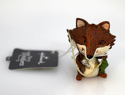 Hallmark Merry Miniatures 2016 Fox Fishing - #QMM7151