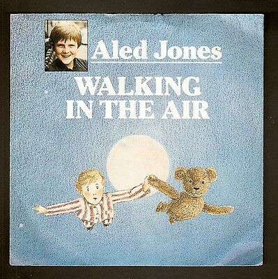 "Aled Jones  -  Walking in the Air   7"" vinyl 1985"