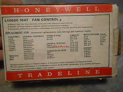 Honeywell L4068E 1047 Fan Control in Box