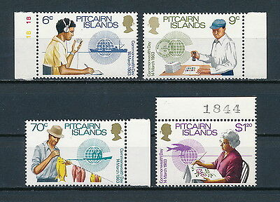 Pitcairn 221-24 MNH, Commonwealth Day, 1983