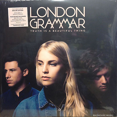 LONDON GRAMMAR LP x 2 Truth Is A Beautiful Thing - Deluxe Limited 7 Extra Trks +