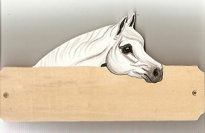 Arab horse/pony stable/stall/barn name plate/plaque/sign personalised gift