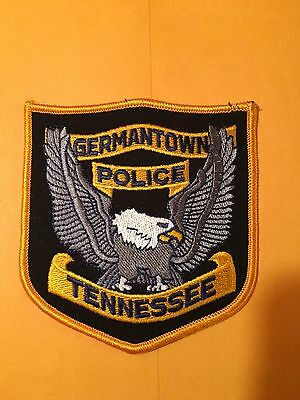 Germantown Tennessee  Police  Shoulder Patch