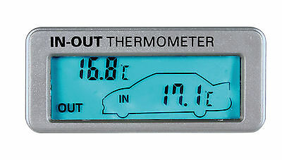 In/out Thermometer - 12/24V Lampa