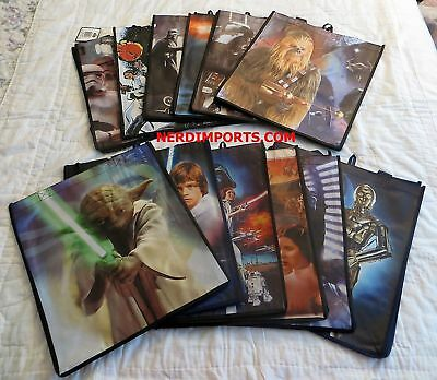 Star Wars Shopping Tote Bags - Set Of 12 - New Limited Edition