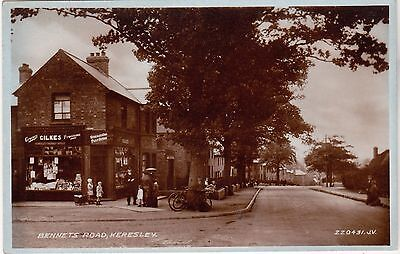 Warwickshire postcard POST OFFICE, BENNETS ROAD, KERESLEY, COVENTRY 1940's?