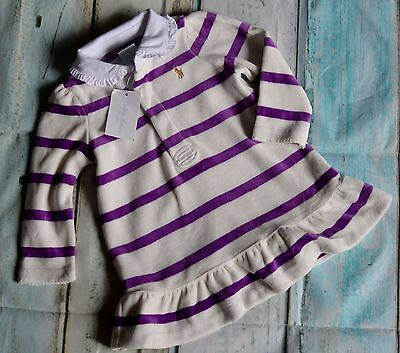 New With Tags Ralph Lauren Baby Girls Designer Clothes Velour Dress 9 Months