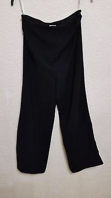 size 8 black maternity trousers from Next