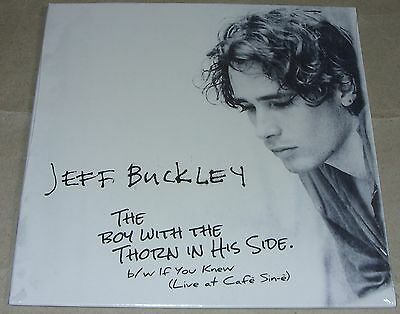 """Jeff Buckley - Boy With The Thorn In His Side 7"""" Vinyl Unplayed & Sealed Smiths"""
