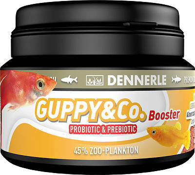 Dennerle Guppy & Co Booster Basic food for live-bearing fish 100ml