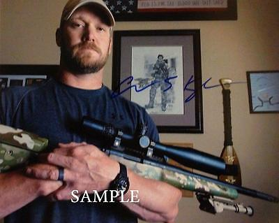 Chris Kyle #1 Reprint Autographed Picture Signed Photo 8X10 American Sniper Rp