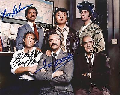 Barney Miller Cast Reprint Autographed Picture Signed Photo 8X10 Gift Abe Vigoda