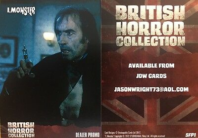 British Horror Collection JDW Cards Exclusive Dealer Promo Card