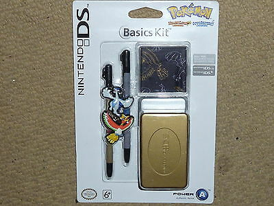 NINTENDO DS LITE DSi OFFICIAL POKEMON Stylus Game Case NEW! HeartGold SoulSilver