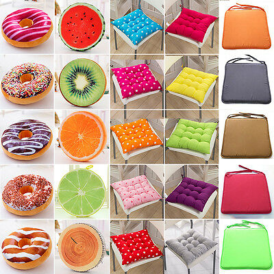 Outdoor Indoor Garden Patio Home Kitchen Office Sofa Chair Seat Soft Cushion Pad