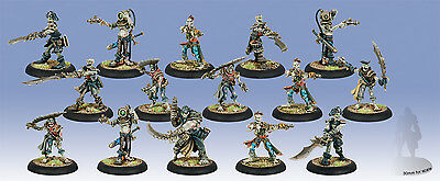 Warmachine: Cryx - Revenant Crew of the Atramentous with 3 Riflemen Unit