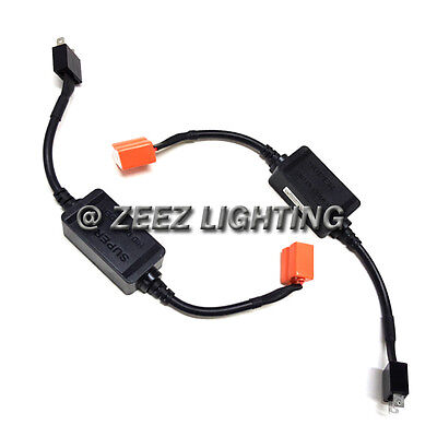 H7 LED Headlight Canbus Decoder Bulb Out Error Warning Canceller Anti-Flicker