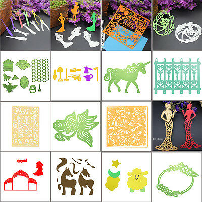Metal Cutting Dies Stencils DIY Scrapbooking Photo Album Paper Card Craft Gifts
