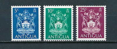 Antigua 228-30 MNH, Coat of Arms 1970