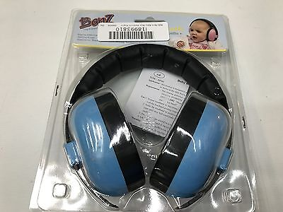 Baby Banz EMBB Hearing Protection, 0-2 Years, Blue (A36)