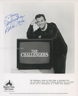 Dick Clark - Inscribed Photograph Signed