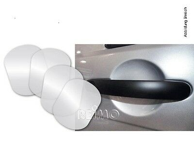 4-piece Set transparent Screen protector for Door handle mould For VW T5/T6