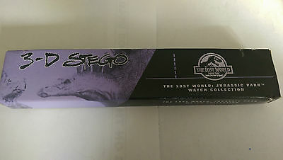 Jurassic Park The Lost World 3-D Stego Burger King Watch Collectible Nib 1997