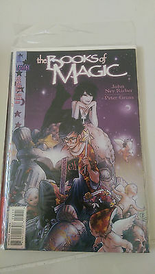 The Books Of Magic #25 (1996) Vertigo Comics Bachalo Cover! 1St Print! Death! Nm